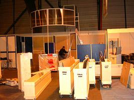 Expertise, conception, fabrication, aménagement de stands